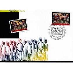 FDC ITALIA 2006 Cartolina Poste Italiane Unif. 2970 Vittime del Terrorismo AS