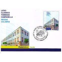 FDC ITALIA 2005 Cartolina Poste Italiane Unif. 2866 Liceo Tommaso Campanella