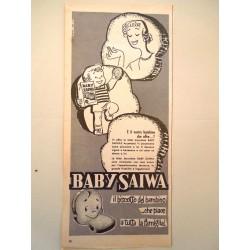 Pubblicità Advertising 1958 alimentari Baby Saiwa