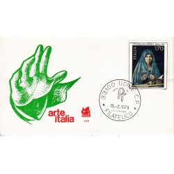 FDC ITALIA 1979 Bucintoro Unif. 1448 Arte Italiana Annullo Udine