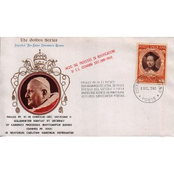 FDC VATICANO The Golden Series 1965 BEATIFICAZIONE DI S.S. GIOVANNI XXIII (1881-1963)