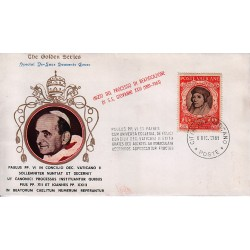 FDC VATICANO The Golden Series 1965 BEATIFICAZIONE DI S.S. PIO XII E S.S. GIOVANNI XXIII