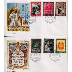 FDC VATICANO Roma 1966 Chiusura Concilio Vaticano II