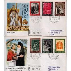 FDC VATICANO Roma 1966 Chiusura Concilio Vaticano II raccomandata
