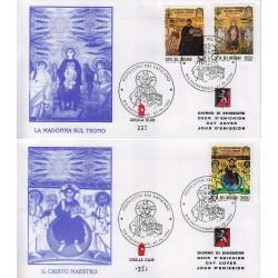 FDC VATICANO 1994 Grolla Unif. 998/1000 Archeologia Cristiana