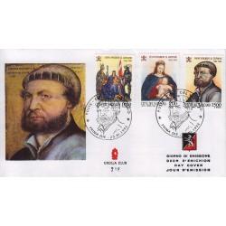 FDC VATICANO 1993 Grolla Unif. 975/7 Hans Holbein