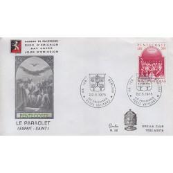 FDC VATICANO 1975 Grolla Unif. 51 Pentacoste