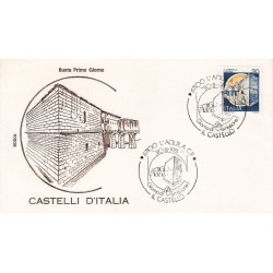 FDC Italia 1981 Rodia Unif 15769 Castelli d'Italia L'Aquila A/S L'Aquila