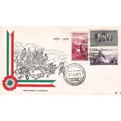 FDC ITALIA 1959 RE.RU. - 866 Centenario della II guerra d'Indipendenza as/Magenta 2 buste