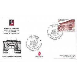 FDC ITALIA APG Grolla Club 27/11/1999 Scuole d´Italia 13° emis. - Pisa a/s