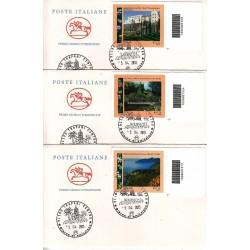 FDC ITALIA 2013 POSTE ITALIANE - Parchi e gioardini codice a barre bd a/TP