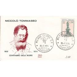 FDC ITALIA Rossetti 30/07/1974 Nicolò Tommaseo a/Milano