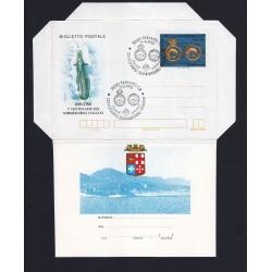 FDC ITALIA Biglietto Postale B61 15/05/1990 Sommergibili AS/Taranto