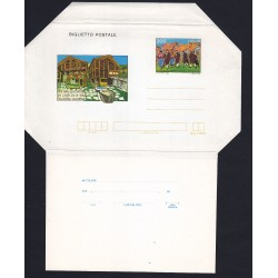 FDC ITALIA Biglietto Postale B55 24/09/1983 WALSER VIII RADUNO Nuovo