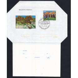FDC ITALIA Biglietto Postale B55 24/09/1983 WALSER VIII RADUNO AS/ROMA