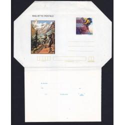 FDC ITALIA Biglietto Postale B53 19/01/1982 FILM DI MONTAGNA Nuovo