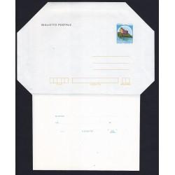 FDC ITALIA Biglietto Postale B52 26/10/1982 CASTELLI 200 £ Nuovo