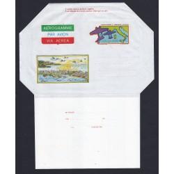 FDC ITALIA AEROGRAMMA A20 01/07/1983 2° TRASVOLATA ALTANTICA NUOVO
