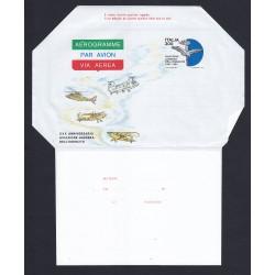 FDC ITALIA AEROGRAMMA A14 02/05/1982 XXX ANNIV. A.L.E. - NUOVO
