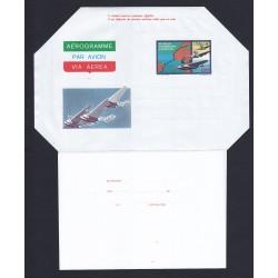 FDC ITALIA AEROGRAMMA A13 10/10/1980 TRASVOLATA ATLANTICA - NUOVO