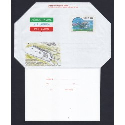 FDC ITALIA AEROGRAMMA A12 03/04/1980 SCHERMA - NUOVO