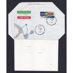 FDC ITALIA AEROGRAMMA A10 04/03/1978 DIRIGIBILE ITALIA - AF/RM
