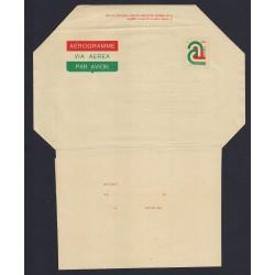FDC ITALIA AEROGRAMMA A8 15/09/1977 TRICOLORE VIA AEREA - NUOVO
