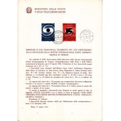 Italia Bollettino illustrativo 1962 n°84 Mostra Cinema Venezia APG