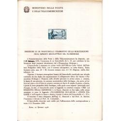 Italia Bollettino illustrativo 1958 n° 37 Impianti Idroelettrici Flumendosa