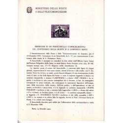 Italia Bollettino illustrativo 1957 n° 34 San Domenico Savio