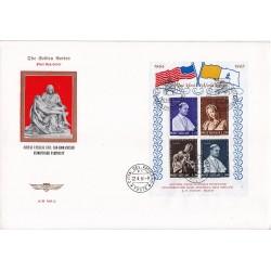 FDC VATICANO The Golden Series 1964 Esposizione New York in bustone