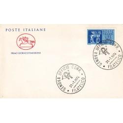 FDC ITALIA Poste Italiane 31/07/1974 Espresso 250 £. A/GE