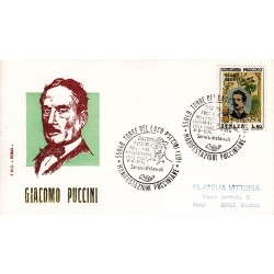 FDC ITALIA Roma 08/08/1974 Giacomo Puccini. AS/TORRE AA