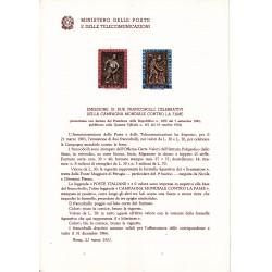 Italia Bollettino illustrativo 1963 n°94 Campagna contro la fame