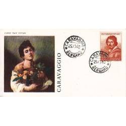 FDC ITALIA OLIMPIA 25/11/1960 Caravaggio A/Caravaggio