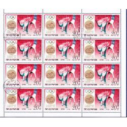 Korea - Scott A957-1727 - 15/06/1978 Storia delle Olimpiadi Mini foglio usato