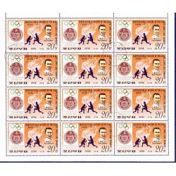 Korea - Scott A957-1731 - 15/06/1978 Storia delle Olimpiadi Mini foglio usato