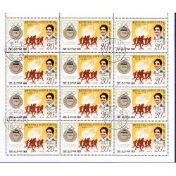 KKorea - Scott A957-1733 - 15/06/1978 Storia delle Olimpiadi Mini foglio usato