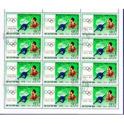 Korea - Scott A957-1739 - 15/06/1978 Storia delle Olimpiadi Mini foglio usato