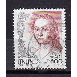 1999 Italia Repubblica - Unif. 2432 - Donne nell´arte 2ª emissione Dipinto di R. Sanzio £ 800 - usato