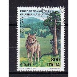 1999 Italia Repubblica - Unif. 2435 -  Europa - £ 800 - usato