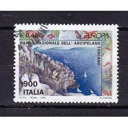 1999 Italia Repubblica - Unif. 2436 -  Europa £ 900 - usato