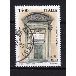 1999 Italia Repubblica - Unif. 2437 - Giubileo del 2000 - Porta santa £ 1400 - usato