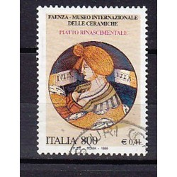 1999 Italia Repubblica - Unif. 2440 S548 Serie cpl. 3 val. - Patrimonio artistico e culturale italiano  - £ 800 - usato