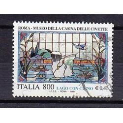 1999 Italia Repubblica - Unif. 2441 S548 Serie cpl. 3 val. - Patrimonio artistico e culturale italiano  - £ 800 - usato