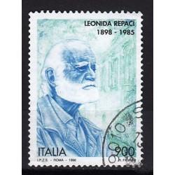 1998 Italia Repubblica - Unif. 2363- Centenario della nascita di scrittori celebri - Bertolt Brecht - usato