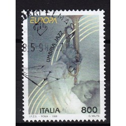 1998 Italia Repubblica - Unif. 2369-  Europa CEPT - Umbria jazz - usato