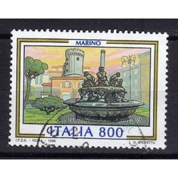 1998 Italia Repubblica - Unif. 2377-  Propaganda turistica 25ª emissione Marino - usato