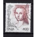 1998 Italia Repubblica Unif. 2397 La Donne nell'arte Raffaello Sanzio - £ 800 usato