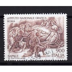 1998 Italia Repubblica Unif. 2426 - Natale adorazione dei pastori usato